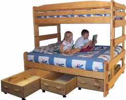 Build with Drawers or Trundle Bed