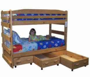 Bunk Bed Plans Picture